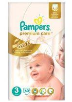 Pampers Premium Care pelenka midi 60db-os 3