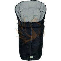 Fillikid bundazsák Eco big babakocsiba 100*55cm fekete-szürke