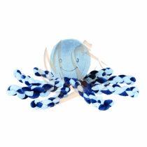 Nattou plüss játék 23cm Octopus - sötétkék /e/