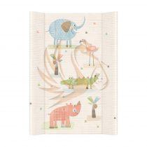 Ceba pelenkázó lap merev 2 oldalú 50*70 Elefánt
