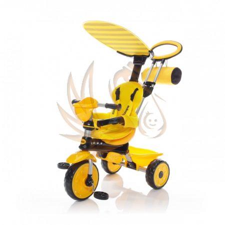Zopa ZooGo 4in1 tricikli tolókarral Bee sárga/fekete