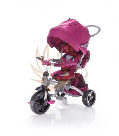 Zopa citiGO 6in1 tricikli tolókarral Mulberry pink