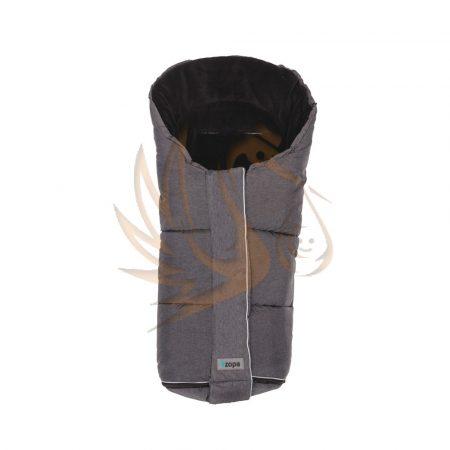 Zopa bundazsák Polar szürke/fekete