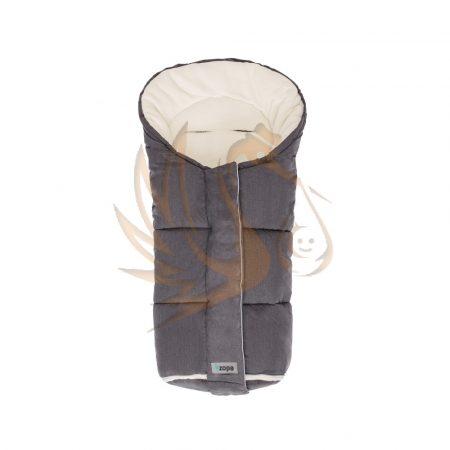 Zopa bundazsák Polar szürke/fehér