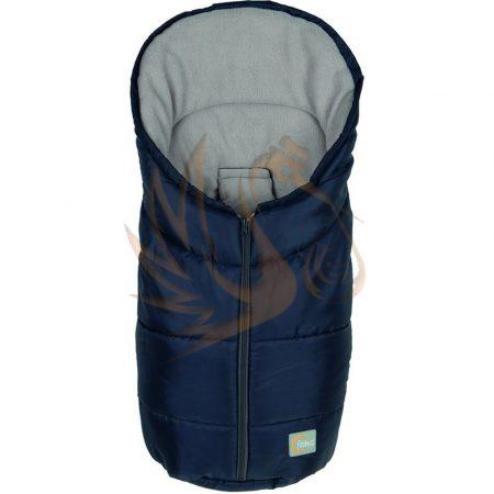 Fillikid bundazsák Eco small hordozóba 80*45cm sötétkék