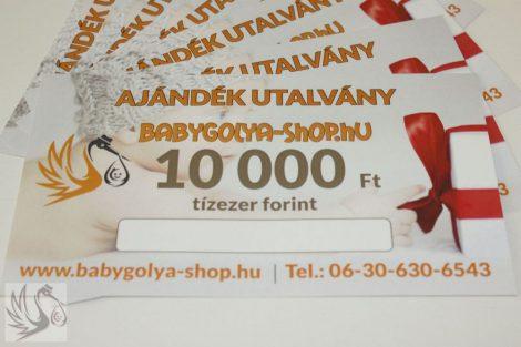 10.000 Ft Értékű BabyGolya-Shop.hu Vásárlási Ajándék utalvány - BabyGolya -Shop.hu e88ccd6f2d