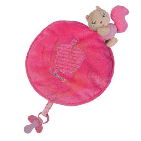 Díszdobozos Szundikendő plüss - rózsaszín