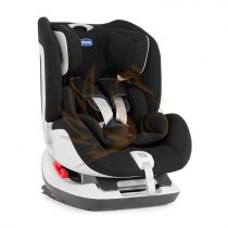 Chicco SEAT UP 0-1-2 (0-25 kg) Isofix+Top Tether - Jet Black