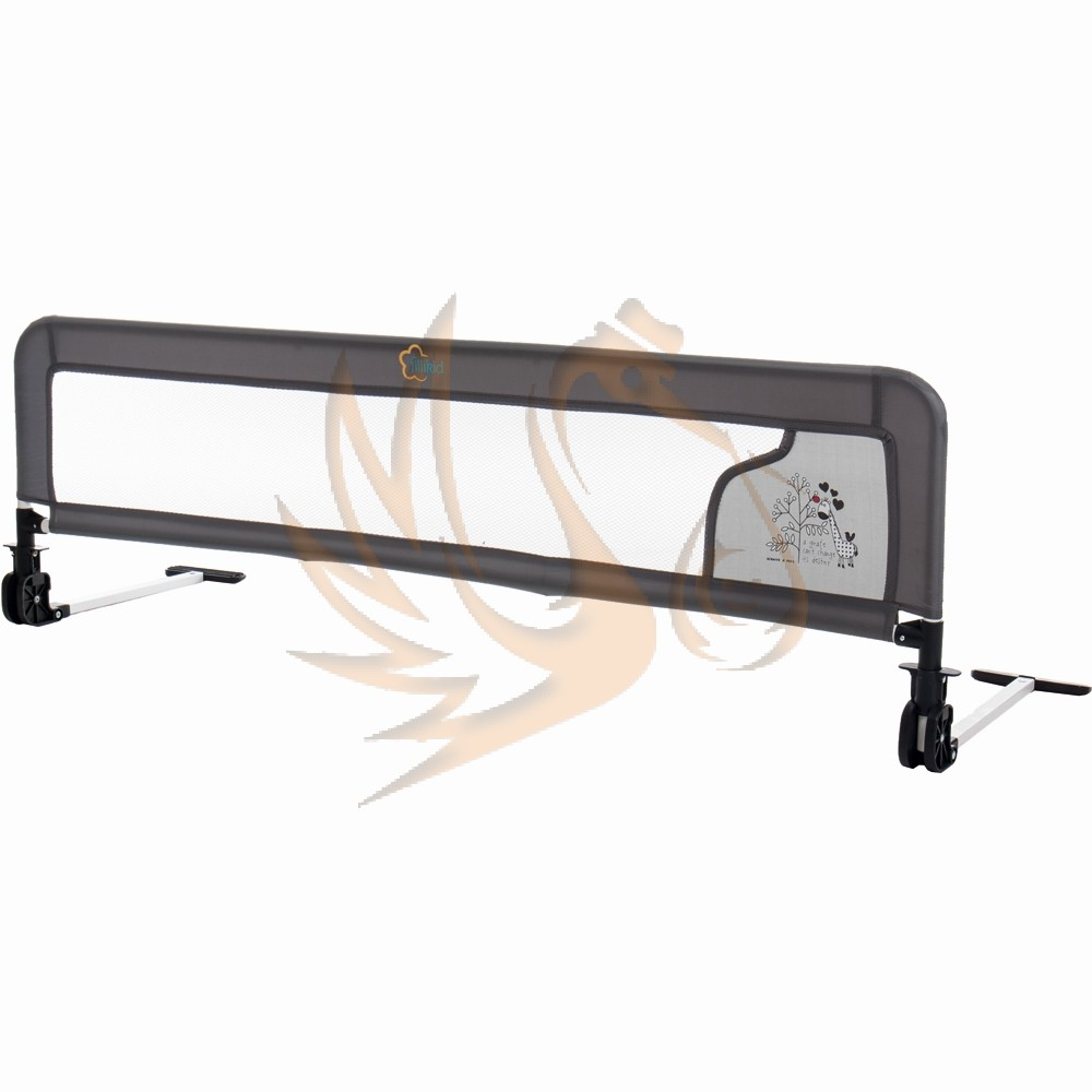 Fillikid leesésgátló ágyra Luxus 135x42cm cm zsiráf 290NLSP-41 szürke